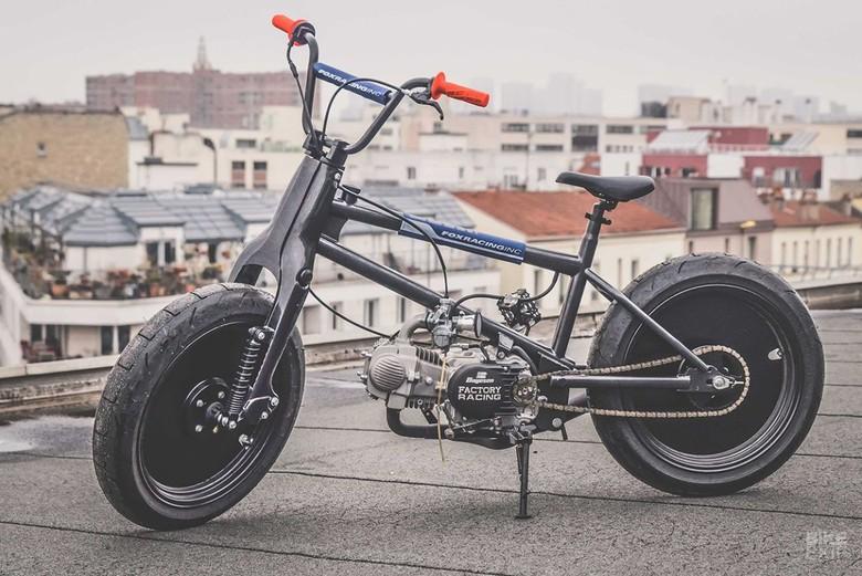 Sepeda BMX Dicangkok Mesin Motor. Foto: Bike Exif