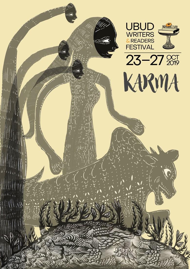 Karma Jadi Tema Ubud Writers and Readers Festival 2019 Foto: UWRF/ Istimewa