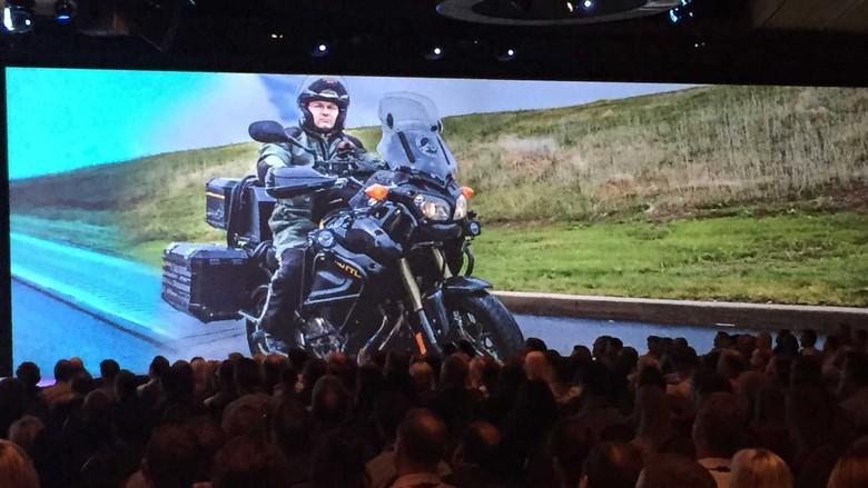 Paul Pelland, Melakukan Naik Motor untuk Terapi Penyakitnya. Foto: Istimewa