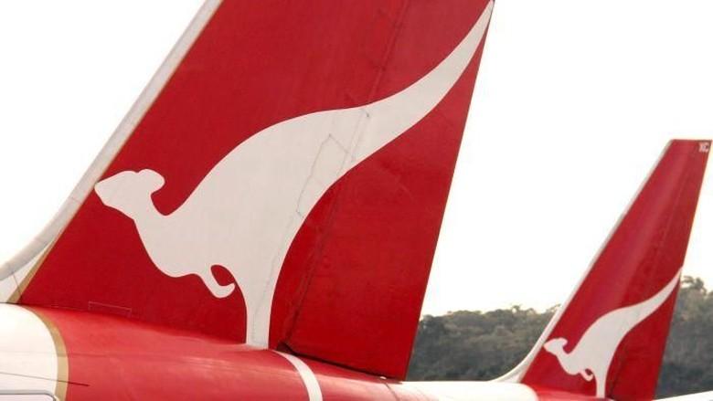 Roda Pesawat Meletus di Udara, Qantas Airways Putar Balik ke Brisbane
