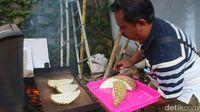 Lembut Wangi! Lezatnya Durian Bakar di Kebun Durian Rajawetan Brebes