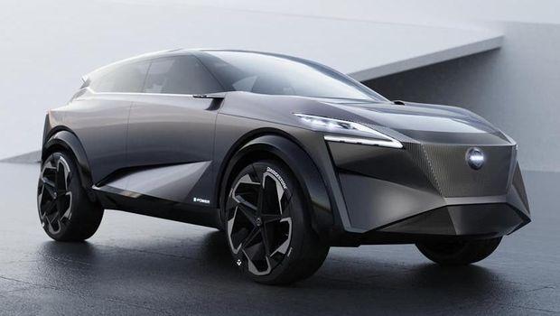 Crossover Listrik Nissan disapa IMq Concept