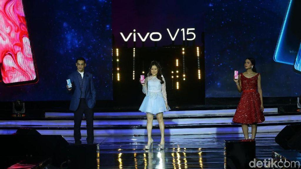Vivo V15: Keren Smartphone-nya, Dahsyat Launching-nya