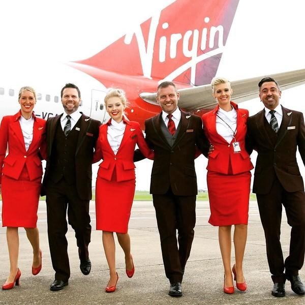 Virgin Atlantic tidak masuk dalam daftar 10 besar tahun lalu, tetapi tahun ini maskapai Inggris itu menduduki posisi ke-7. (Instagram/@virginatlantic)