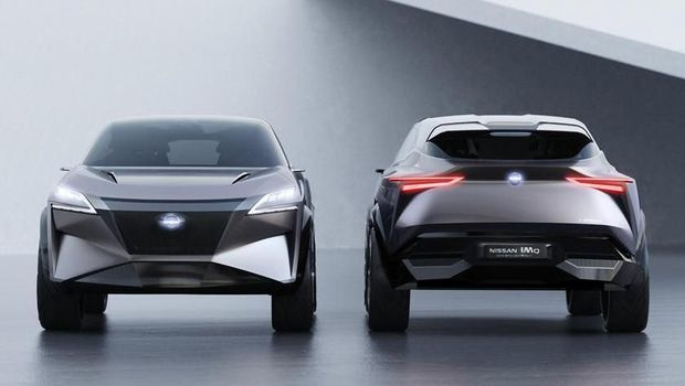 Crossover Listrik Nissan IMq Concept