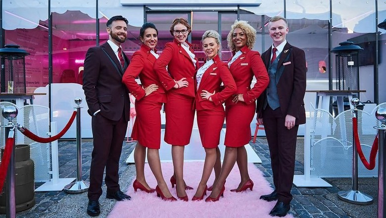 Foto: Ilustrasi pramugari Virgin Atlantic (Virgin Atlantic)