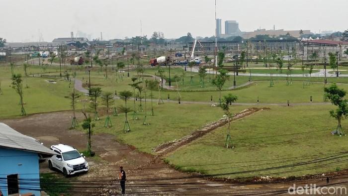 Salahsatu lokasi proyek PT BII/Foto: Tri Ispranoto