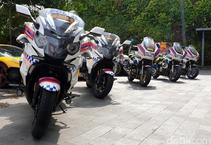 Motor-motor Pelaju Tol Trans Jawa