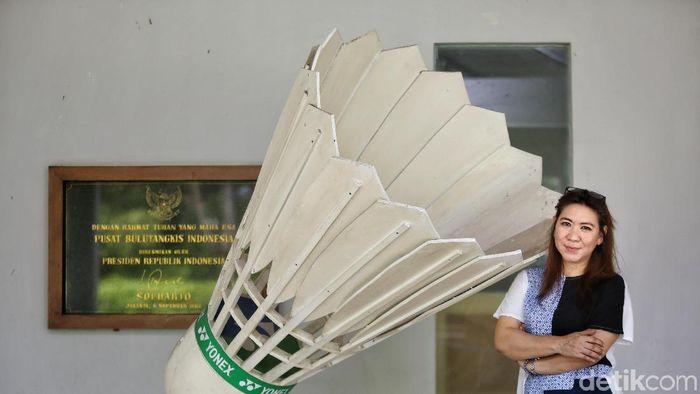 Kabid bInpres PP PBSI, Susy Susanti (Agung Pambudhy/detikSport)