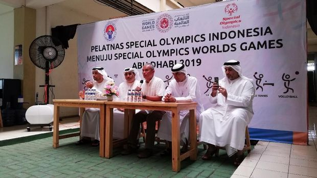 Dubes UEA Dukung Tim Olimpiade Spesial Indonesia