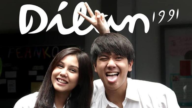 Foto: Dilan dan Milea, pemeran Dilan 1991 (Instagram/filmdilan1991)