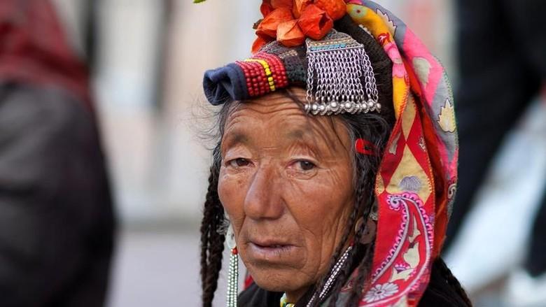Wanita suku Drokpa (iStock)