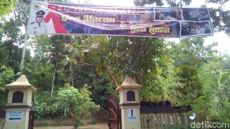 Gua Lawa dan Gua Macan letaknya menjadi satu di Dusun Watusong, Desa Sidayu, Kecamatan Grobogan, Kabupaten Grobogan (Akrom Hazami/detikTravel)