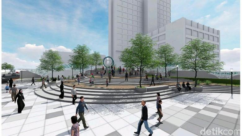 Pemkot Anggarkan Rp 80 Miliar untuk Proyek Alun-Alun Surabaya