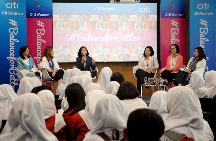 Acara ini bertujuan untuk memberikan literasi keuangan bagi para wnita akan betapa pentingnya kesetaraan gender dan peran perempuan dalam setiap aspek kehidupan. Foto: dok. Citi Indonesia