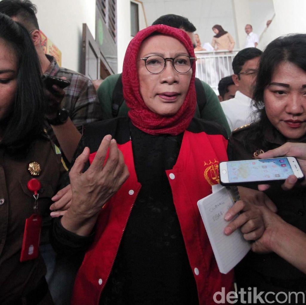 Tiba di PN Jaksel, Ratna Sarumpaet Optimis Hadapi Sidang Putusan Sela