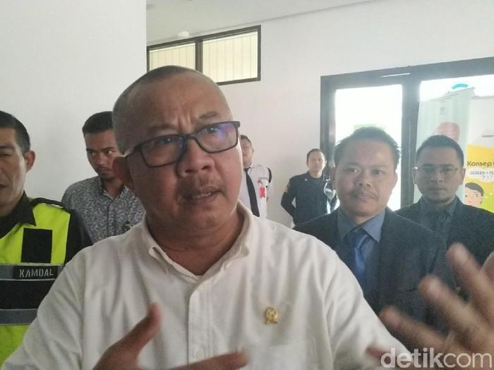 Ketua Majelis Hakim Edison Muhammad. (Foto: Mukhlis Dinillah/detikcom)