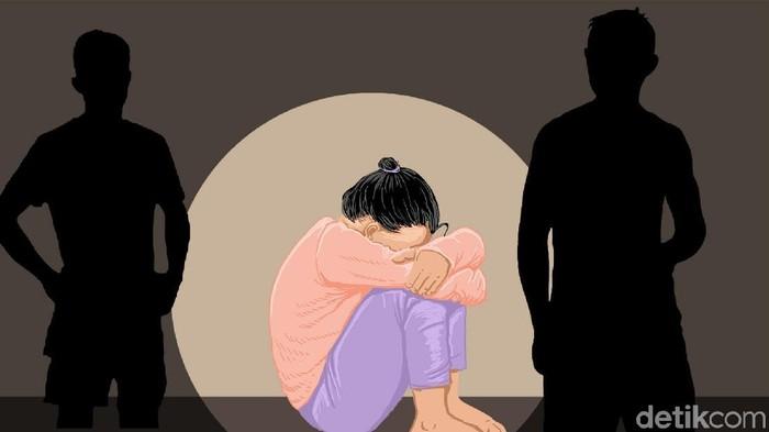 Efek tayangan seksual pada anak. (Foto: Ilustrator: Edi Wahyono)