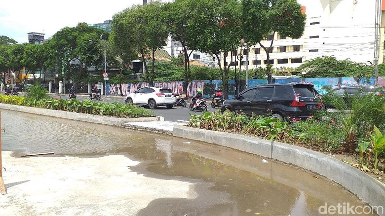 Tes PIT Basemen Alun-Alun Suroboyo, Ini Rekayasa Lalin Jalan Yos Sudarso