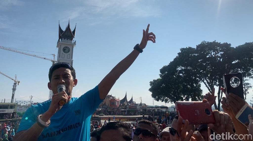 Akan Tampil Orisinal, Sandiaga Siap Tempur di Debat Ketiga