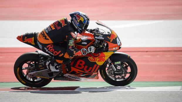 Miguel Oliveira berpotensi membuat kejutan di MotoGP 2019 bersama Red Bull KTM Tech 3. (