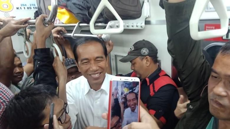Jokowi Desak-desakan Naik KRL, Fahri Hamzah: Ya Ini Kan Musim Kampanye