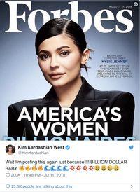 Kylie Jenner Jadi Orang Kaya Termuda, Netizen: Tak Layak!