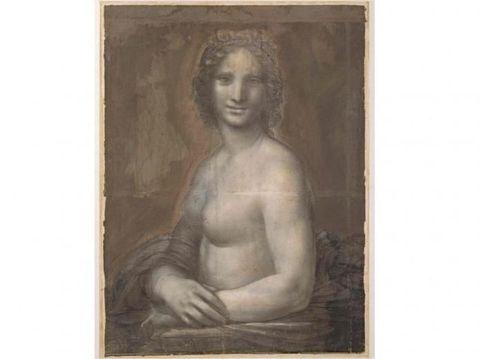 Ditemukan Lukisan 'Mona Lisa' Versi Telanjang, Digambar Leonardo da Vinci?