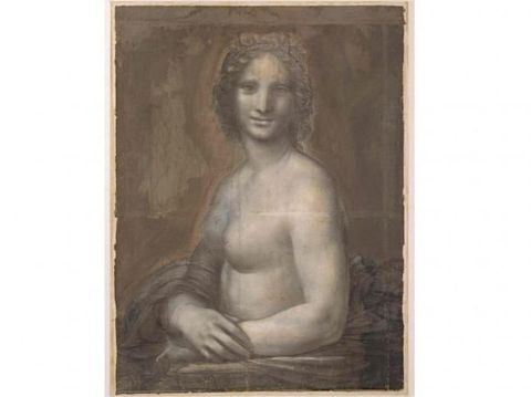 Lukisan Telanjang 'Mona Lisa' Karya Leonardo da Vinci Dipajang Akhir 2019