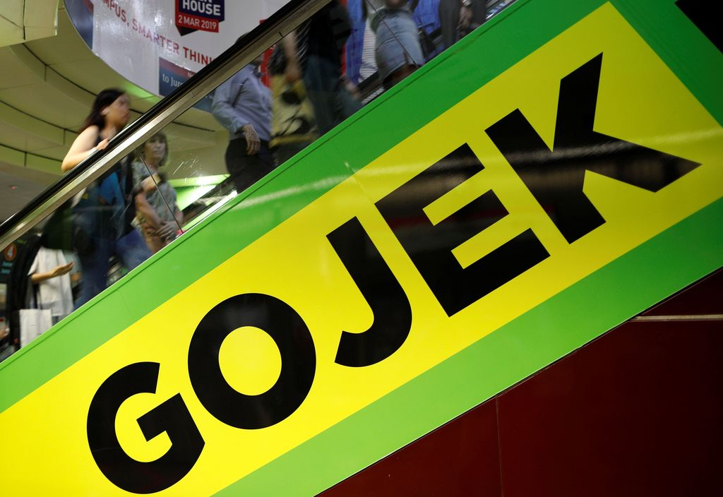 Gojek. (REUTERS/Edgar Su)