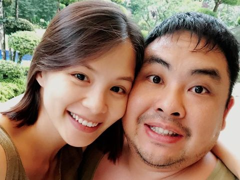 Tracy Lee dan mendiang suaminya, Ben Goi