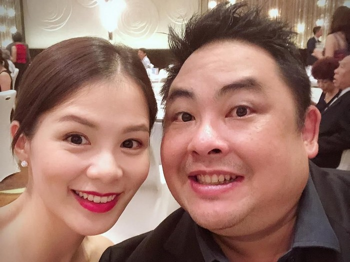 Tracy Lee dan mendiang suaminya, Ben Goi.Foto: Instagram