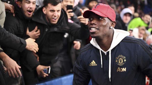 Paul Pogba sempat disebut bakal hengkang dari Manchester United di akhir musim.