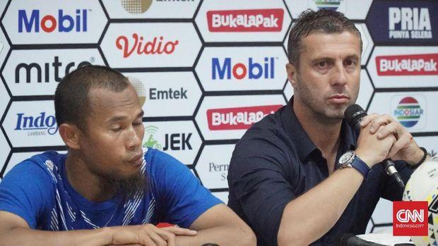Miljan Radovic menjadikan perempat final Piala Indonesia 2019 sebagai ajang uji coba tim. (