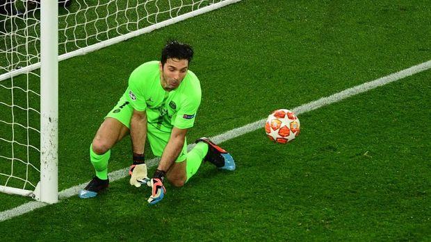 Gianluigi Buffon berpeluang kembali ke Juventus. (