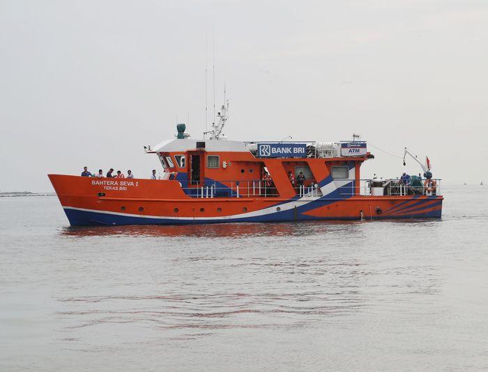 Teras BRI Kapal Bahtera Seva I di Kepulauan Seribu (Foto: Pradita Utama/detikcom)