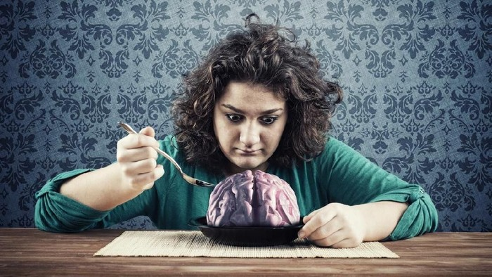 Sebuah penyakit menyeramkan mengancam bila memakan otak manusia (Foto: iStock)