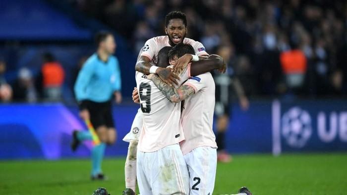 MU lolos ke perempatfinal Liga Champions usai menyingkirkan PSG secara dramatis. (Foto: Shaun Botterill/Getty Images)