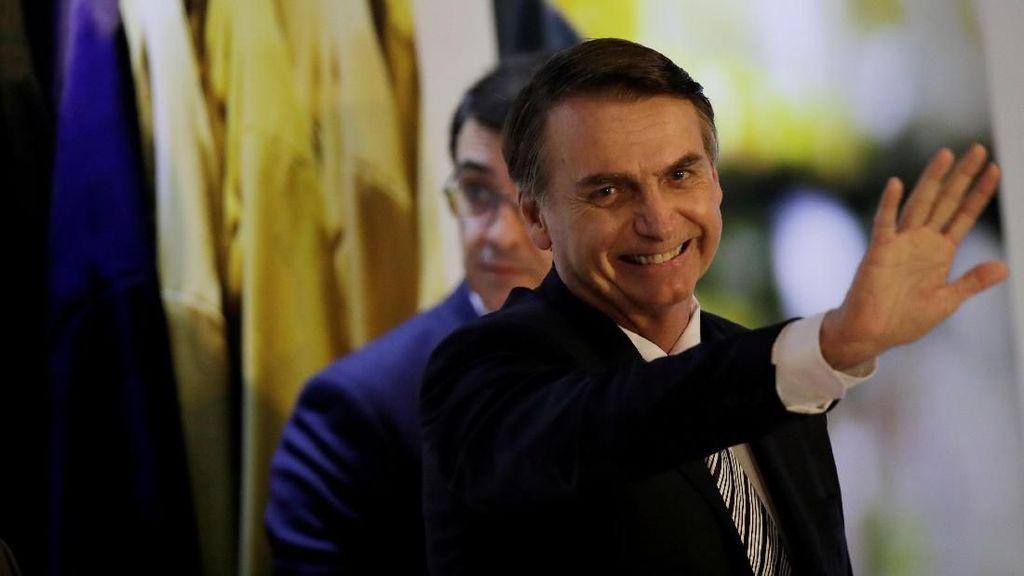 Unggahan Presiden Brasil soal Virus Corona Dihapus Facebook