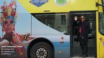 Foto: Tari Gandrung Banyuwangi Nempel di Bus Pariwisata Jerman