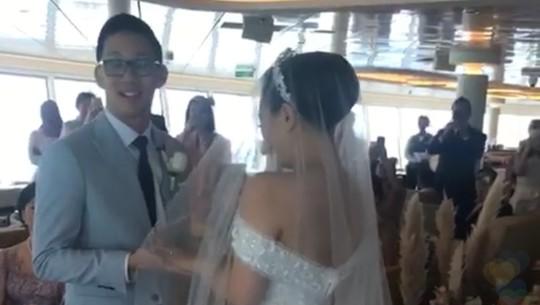 Yang Tak Terlupakan dari Pernikahan Yuanita Christiani di Kapal Pesiar
