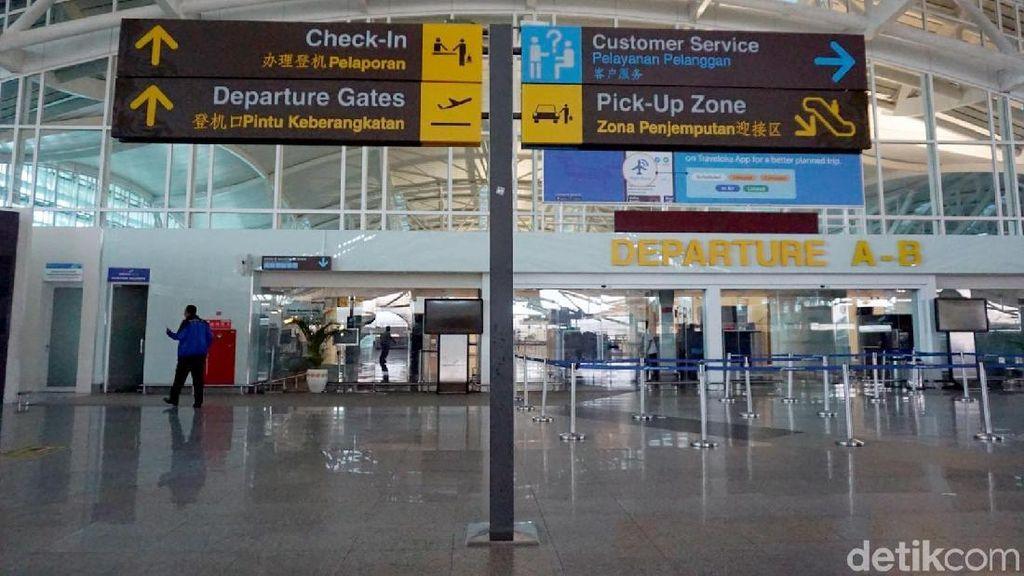 Pasca Bom Bunuh Diri di Kartasura, Pengamanan Bandara Diperketat