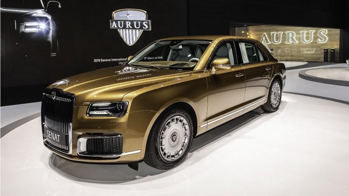 Mobil Para Sultan dan Pejabat Negara dari Rusia