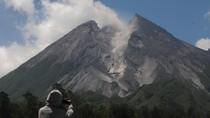 Gunung Merapi 8 Kali Luncurkan Awan Panas dalam Sepekan Terakhir