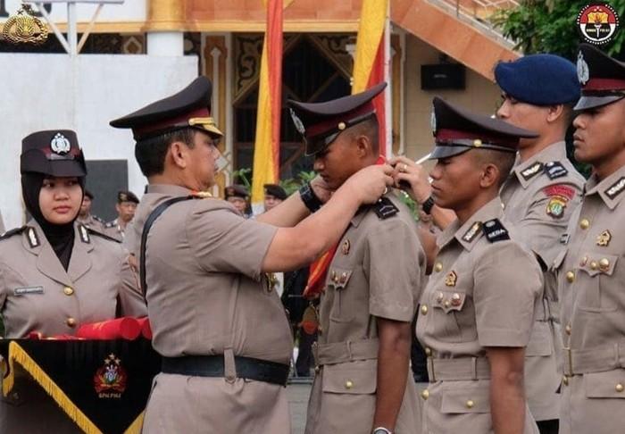 Bripda Rahmat lulusan terbaik SPN Polda Metro Jaya