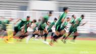 Serius Berlatih, Para Pemain Berebut Tempat di Timnas U-23
