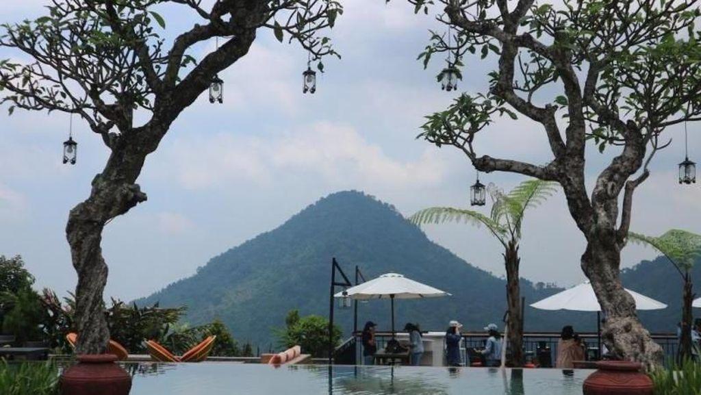 Bukan Bali, Ini Panorama dari Villa di Bogor