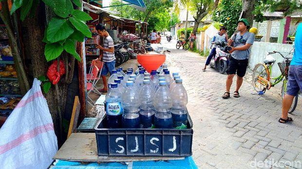 Bensin di Pulau Tidung