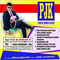 Caleg Koalisi Tronjal Tronjol Maha Asyik Ramaikan 'Pura-pura Caleg' 2019