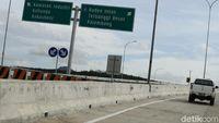 Mudik Via Tol dari Lampung ke Palembang, Rest Area Masih Temporer